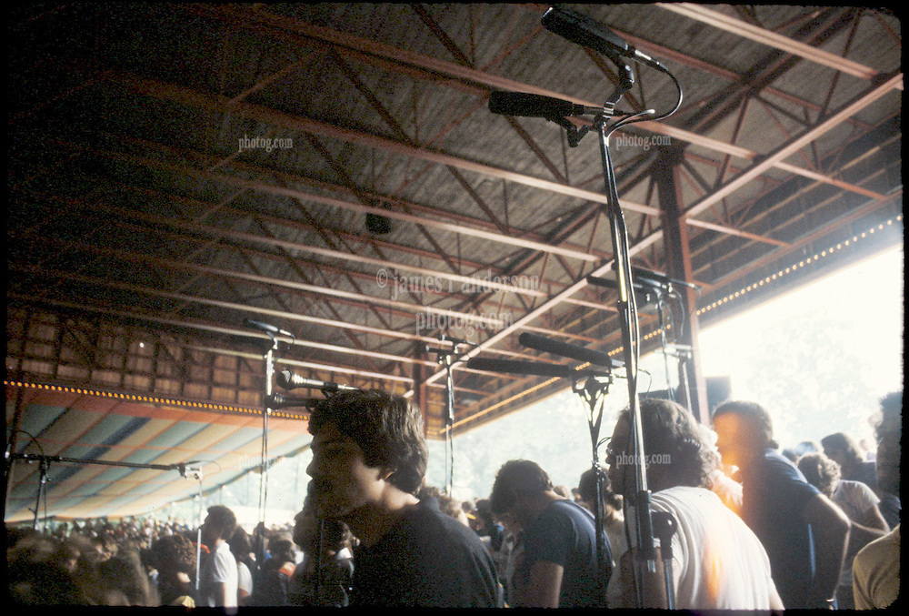 Grateful Dead Concert Taping Section, Merriweather Post Pavilion 20 June 1983