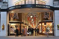 burlington arcade in london at christmas