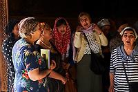 Georgie, Caucase, Tbilissi, vieille ville, cathedrale Sioni, chant liturgique  // Georgia, Caucasus, Tbilisi, old city, Sioni Cathedral, liturgic song