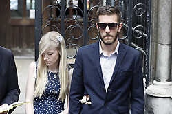 © Licensed to London News Pictures. 10/07/2017. London, UK. Connie Yates and <br /> Chris Gard leave The High Court. The parents of terminally ill Charlie Gard have returned to the High Court in light of new evidence relating to potential treatment for their son's condition. An earlier lengthy legal battle ruled that Charlie could not be taken to the US for experimental treatment. London, UK. Photo credit: Peter Macdiarmid/LNP