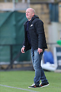 Livingston Manager David Martindale pointing, directing, signalling, gesture during the Scottish Premiership match between Livingston and Aberdeen at Tony Macaroni Arena, Livingstone, Scotland on 1 May 2021.