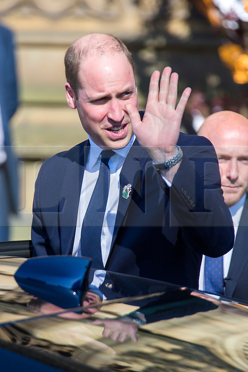 © Licensed to London News Pictures. 22/05/2018. Manchester UK. HRH Duke of Cambridge Prince William at the memorial service at Manchester Cathedral. Today marks the first anniversary of the Manchester Arena bombing. 22 people died when Salman Abedi detonated a bomb at an Ariana Grande concert. Photo credit: Andrew McCaren/LNP