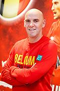 Belgian captain Johan Van Herck pictured during the Belgium press conference before the Davis Cup 2017 final tennis match on November 14, 2017 at Pierre Mauroy stadium in Villeneuve-d'Ascq, near Lille, France - Photo Geoffroy Van Der Hasselt / ProSportsImages / DPPI