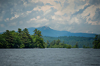 The backdrop of Mt. Chocorua from Squam Lake.  (Karen Bobotas/for the Laconia Daily Sun)