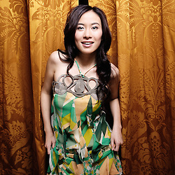 """Honk Kong's actress Michelle Ye at the 62th Cannes Film Festival for Johnnie To's movie, """"Vengeance"""". Hotel Majestic. France. 17 May 2009. Photo: Antoine Doyen"""