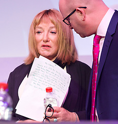 UKIP 2015 Spring Conference at the Winter Gardens Margate, Great Britain <br /> 28th February 2015 <br /> <br /> with Paul Nuttall <br /> <br /> <br /> Kellie Maloney <br /> formerly Frank Maloney <br /> <br /> <br /> <br /> Photograph by Elliott Franks <br /> Image licensed to Elliott Franks Photography Services