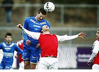 Fotball , 15. april 2012 , Adeccoligaen , 1. divisjon , Notodden - Bryne<br /> <br /> Steffen Jenssen , Notodden<br /> Kai Risholt, Bryne