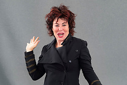 "Edinburgh, Scotland, UK; 19  August, 2018. Pictured; Comedian Ruby Wax. Her new book "" How to be Human: The Manual"", shares her tips for having a healthy mind in a world where new equals best and keeping up is tough."