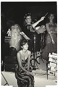 GHISLAINE MAXWELL, ALEX BLAKER, BOISDALE BALL, LONDON DUNGEONS, 1986