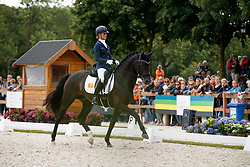 Cornelissen Adelinde, NED, Governor Str<br /> Longines FEI/WBFSH World Breeding Dressage Championships for Young Horses - Ermelo 2017<br /> © Hippo Foto - Dirk Caremans<br /> 04/08/2017
