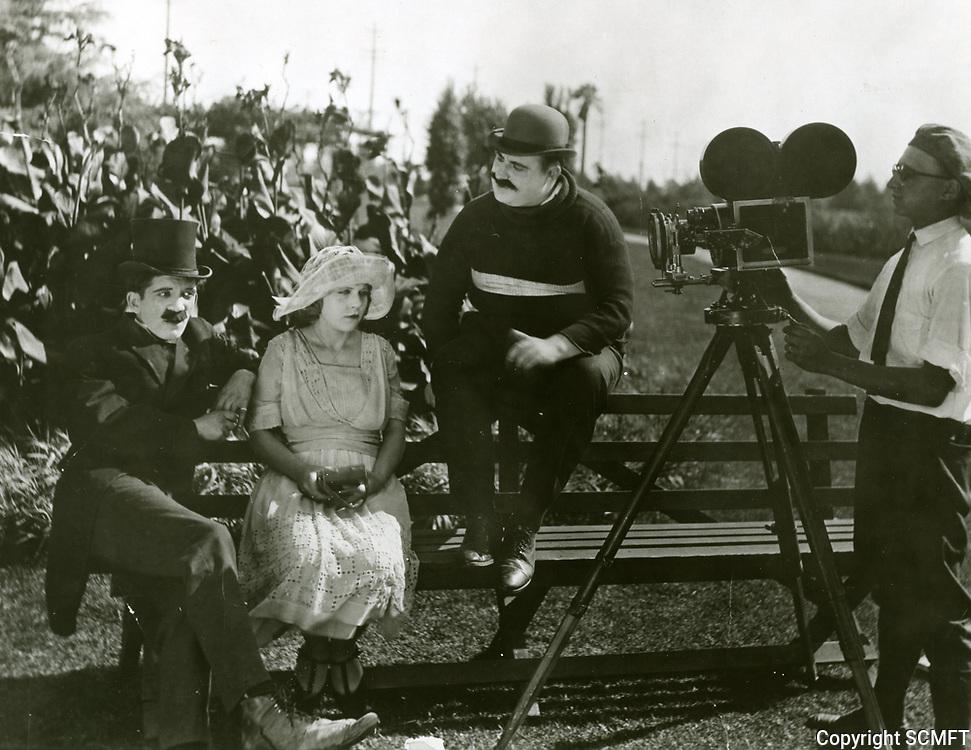 1922 Filming at Hal Roach Studios
