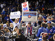 CHICAGO, IL - OCTOBER 22:  Fans celebrate after Game 6 of the NLCS between the Los Angeles Dodgers and the Chicago Cubs at Wrigley Field on Saturday, October 22, 2016 in Chicago, Illinois. (Photo by Ron Vesely/MLB Photos via Getty Images)