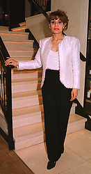 Fashion desiner MARYAM DEL MONICA at a fashion show in London on 4th May 1999.MRP 4