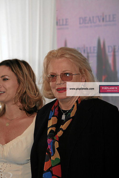 Gena Rowlands pour BROKEN ENGLISH Zoe Cassavetes - 7/09/2007 - 33 ème Festival du cinéma américain de Deauville - JSB / PixPlanete