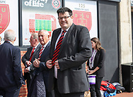 Mark Labbett from TVs The Chase during the English League One match at Bramall Lane Stadium, Sheffield. Picture date: April 30th, 2017. Pic credit should read: Jamie Tyerman/Sportimage