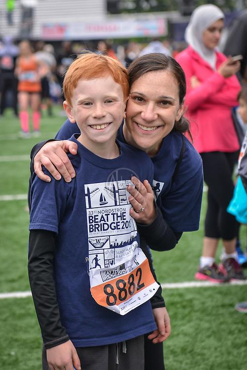 33rd Annual Nordstrom Beat the Bridge Run, May 2015, Seattle.