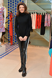 ANNABEL CROFT at the Melissa Odabash & Future Dreams Preview to launch their collaborative mastectomy swimwear line in aid of the future dreams Haven appeal held at Fenwick, New Bond Street, London on 10th February 2015.