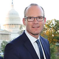 Washington - 10/4/17 - Visit of Simon Coveney to DC.  Copyright 2017  by Marty Katz.<br /> http://washingtonphotographer.com