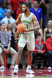 NORMAL, IL - November 13: Christian Jacob during a college basketball game between the ISU Redbirds  and the Chicago State Cougars on November 13 2018 at Redbird Arena in Normal, IL. (Photo by Alan Look)