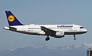 D-AILE Lufthansa, Airbus A319-114 at Malpensa (MXP / LIMC), Milan, Italy