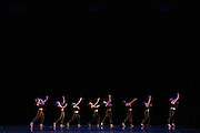 Santa Clara University's Department of Theatre & Dance performs during the Choreographer's Gallery dress rehearsal at Louis B. Mayer Theatre at Santa Clara University in Santa Clara, California, on November 29, 2016. (Stan Olszewski/SOSKIphoto)