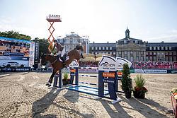 SCHOONBROODT-DE AZEVEDO Celine (BEL), CHEPPETTA<br /> Münster - Turnier der Sieger 2019<br /> MARKTKAUF - CUP<br /> BEMER-Riders Tour - Qualifier for the rating competition (comp no 11)  - Stechen<br /> CSI4* - Int. Jumping competition with jump-off (1.50 m) - Large Tour<br /> 03. August 2019<br /> © www.sportfotos-lafrentz.de/Stefan Lafrentz