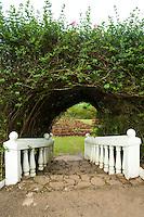 St Andrews Garden Trellis at Nuwara Eliya in Sri Lanka Hill Tea Country