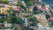 Colorful Buildings on the hillside in Positano, Italy