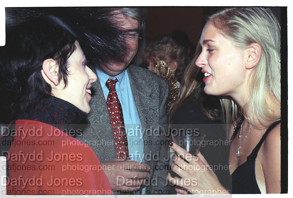 Isabella Blow, Anouskha de Giorgiou, Sunday Times Christmas party. 1997