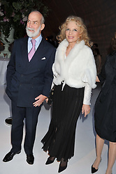 TRH PRINCE & PRINCESS MICHAEL OF KENT at a dinner hosted by Cartier following the following the opening of the Chelsea Flower Show 2012 held at Battersea Power Station, London on 21st May 2012.