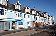 Quayside buildings originally shipping offices, Lowestoft, Suffolk, England