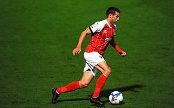 Matty Blair of Cheltenham Town- Mandatory by-line: Nizaam Jones/JMP - 20/10/2020 - FOOTBALL - Jonny-Rocks Stadium - Cheltenham, England - Cheltenham Town v Scunthorpe United - Sky Bet League Two