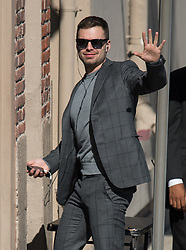 Sebastian Stan is seen at 'Jimmy Kimmel Live' in Los Angeles, California. NON EXCLUSIVE April 25, 2018. 25 Apr 2018 Pictured: Sebastian Stan. Photo credit: RB/Bauergriffin.com / MEGA TheMegaAgency.com +1 888 505 6342