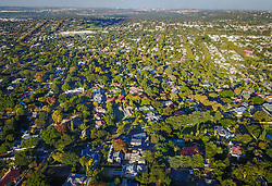 JOHANNESBURG, April 21, 2017  Photo taken on April 20, 2017 shows an aerial view of Houghton, north of Johannesburg, South Africa. The City of Johannesburg Local Municipality, situated in the northeastern part of South Africa with a population of around 4 million,is the largest city and economic center of South Africa. gl) (Credit Image: © Xinhua via ZUMA Wire)