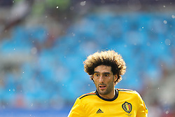 June 23, 2018 - Moscou, Rússia - MOSCOU, MO - 23.06.2018: BÉLGICA Y TÚNEZ - Fellaini during the match between Belgium and Tunisia valid for the 2018 World Cup held at the Otkrytie Arena (Spartak) in Moscow, Russia. (Credit Image: © Ricardo Moreira/Fotoarena via ZUMA Press)