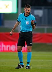 11.06.2019, Profertil Arena, Hartberg, AUT, Testspiel, U21, Oesterreich vs Frankreich, im Bild Schiedsrichter Rade Obrenovic (SLO) // Referee Rade Obrenovic (SLO) during the International U21 Friendly Football Match between Austria and France at the Profertil Arena in Hartberg, Austria on 2019/06/11. EXPA Pictures © 2019, PhotoCredit: EXPA/ Erwin Scheriau