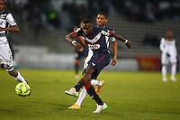 Goal Maxime Poundje - 01.02.2015 - Bordeaux / Guingamp - 23eme journee de Ligue 1 -<br />Photo : Manuel Blondeau / Icon Sport