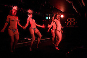 Cloak and Dagger, - Amanda Eliasch - book launch - Entertainment by Miss Polly Rae and her Hurly Burly girls. <br />Soho Revue Bar, 11-12 Walkers Court, London *** Local Caption *** -DO NOT ARCHIVE-© Copyright Photograph by Dafydd Jones. 248 Clapham Rd. London SW9 0PZ. Tel 0207 820 0771. www.dafjones.com.