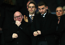 derby County chairman Mel Morris during the Sky Bet Championship match at Pride Park, Derby.