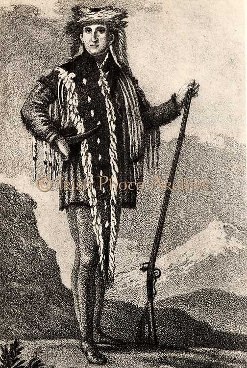 Meriwether Lewis (1774-1809) American explorer who, with his friend William Clark, in 1804-1806 explored the unknown territories west of the Mississippi River.  Secretary to Thomas Jefferson: Governor of Louisiana (1806); shot in a backwoods tavern.