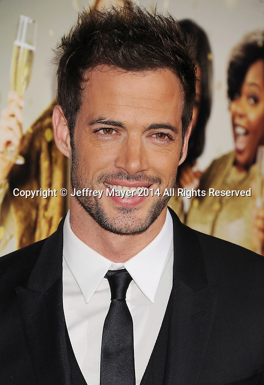 HOLLYWOOD, CA- MARCH 10: Actor William Levy arrives at the Los Angeles premiere of Tyler Perry's 'The Single Moms Club' at the ArcLight Cinemas Cinerama Dome on March 10, 2014 in Hollywood, California.