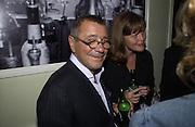 Joseph Ettendui. Be a Bag, Irish Club, London. In aid of the Lavender Trust. 17 September 2001. © Copyright Photograph by Dafydd Jones 66 Stockwell Park Rd. London SW9 0DA Tel 020 7733 0108 www.dafjones.com