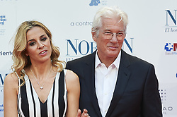 May 31, 2017 - Madrid, Madrid, Spain - Alejandra Silva, Richard Gere attended 'Norman: The Moderate Rise and Tragic Fall of a New York Fixer' Premiere at Callao Cinema on May 31, 2017 in Madrid (Credit Image: © Jack Abuin via ZUMA Wire)