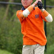 NLD/Eemnes/20050606 - KLM Open 2005, Celeb-Am, blinde golfer Ronald Boef