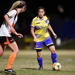 BRISBANE, AUSTRALIA - OCTOBER 21:  during the Football Gold Coast Women's Metro Div 1 Grand Final match between Musgrave and Broadbeach United at Keith Hunt Park on October 21, 2020 in Brisbane, Australia. (Photo by Patrick Kearney)