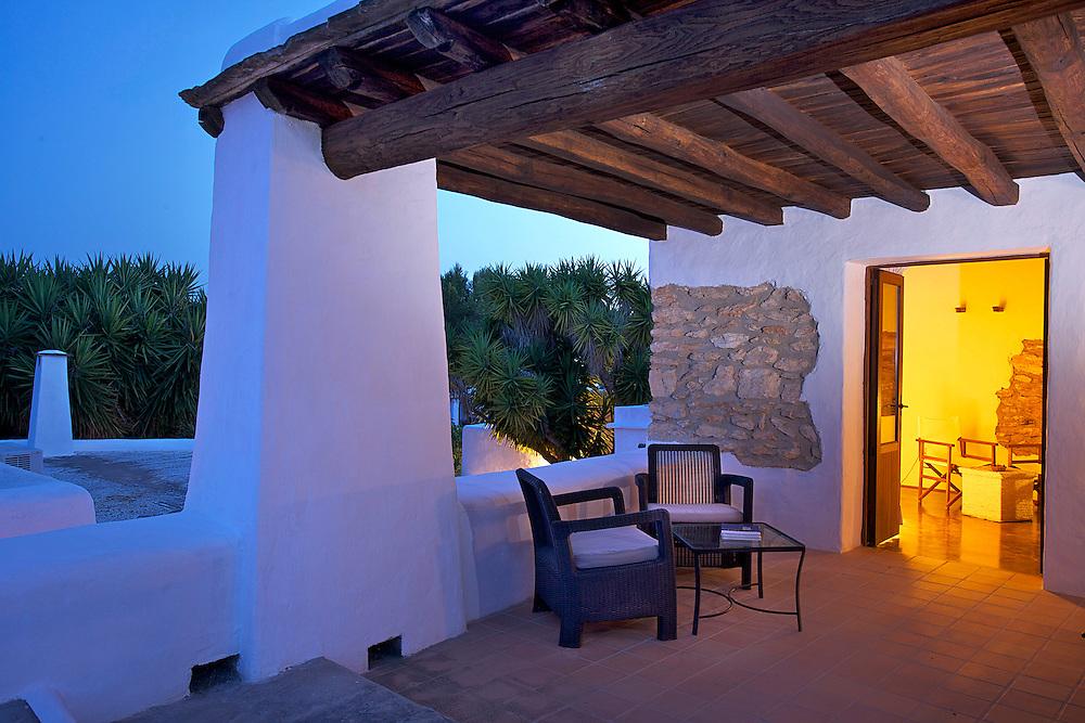 01/Julio/2013 Ibiza. Sant Joan<br /> Agroturismo Ca n'Escandell. <br /> Habitaciòn Sa Majora<br /> <br /> ©JOAN COSTA