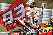 #93 Marc Marquez, Spanish: Repsol Honda Teamduring the Gran Premi Monster Energy de Catalunya at Circuit de Barcelona – Catalunya, Barcelona, Spain on 16 June 2019.