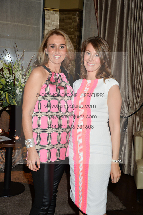 Left to right, SARA MADDERSON and HELEN HUGHES at a party to launch Madderson London Women's Wear held at Beaufort House, 354 Kings Road, London on 23rd January 2014.
