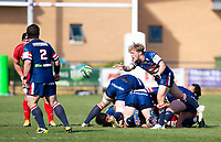 Rugby Union - 2020 / 2021 IPA Greene King Championship - Doncaster Knights vs Saracens - Castle Park, Doncaster.<br /> <br /> Gus Warr of Doncaster Knights<br /> <br /> Credit : COLORSPORT/BRUCE WHITE