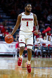 NORMAL, IL - December 31: Dedric Boyd during a college basketball game between the ISU Redbirds and the University of Northern Iowa Panthers on December 31 2019 at Redbird Arena in Normal, IL. (Photo by Alan Look)
